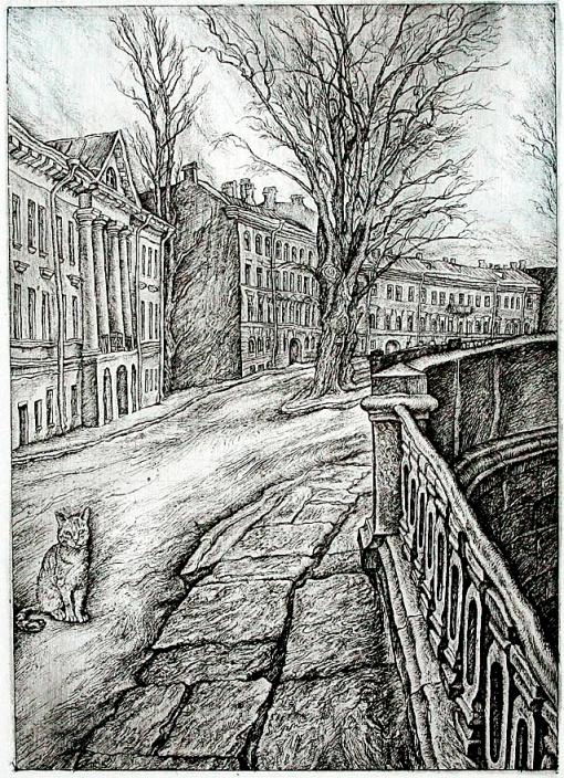 Кот на канале